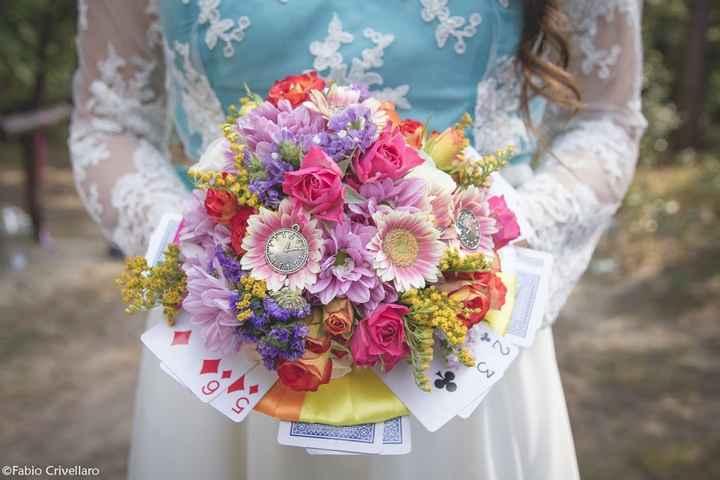 Bouquet Alice nel Paese delle Meraviglie