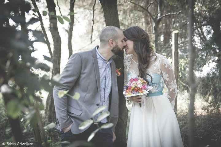 Bacio nel bosco