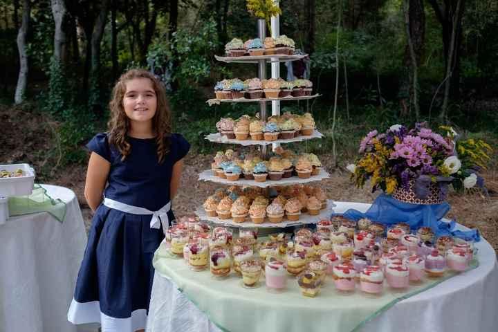 """""""Torta"""" di cupcakes"""