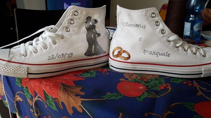 Quanto vi sono costate le scarpe da sposa? 1