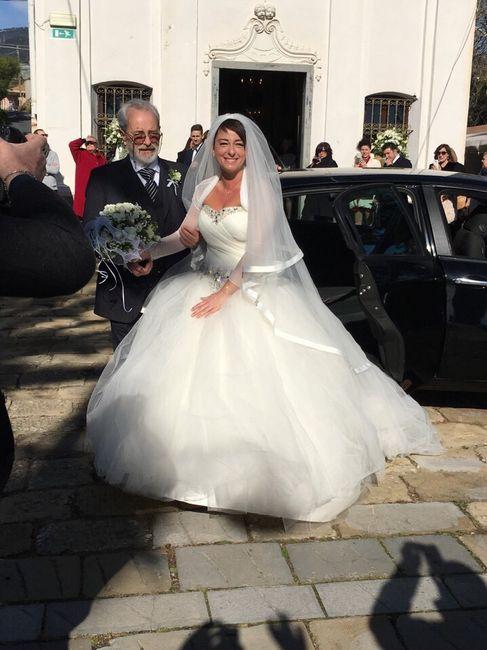 Vestito da sposa in viaggio di nozze - 1