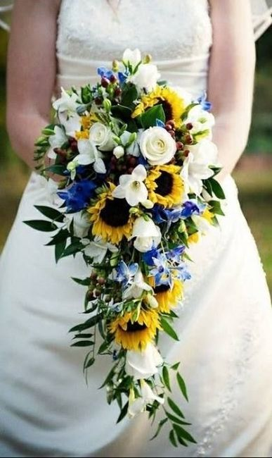 Bouquet con girasoli 10