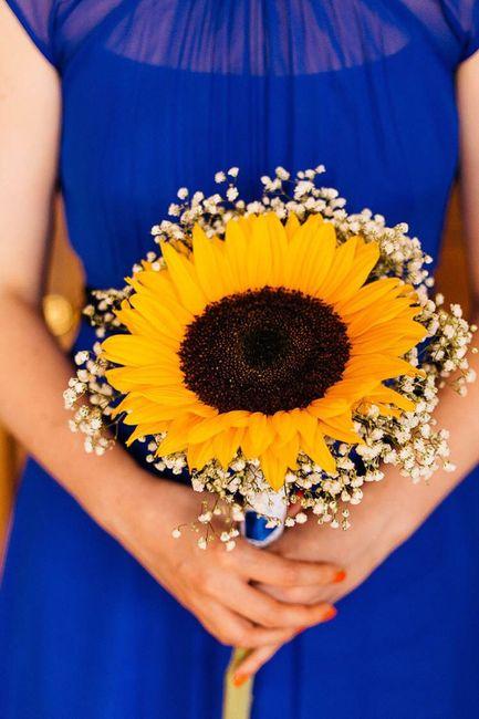 Bouquet con girasoli 13