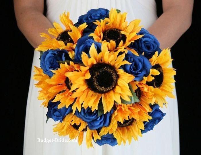 Bouquet con girasoli 14
