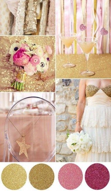 Matrimonio Tema Glitter : Glitter wedding pagina organizzazione matrimonio
