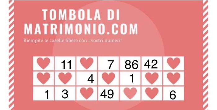 Condividi i tuoi numeri! 26