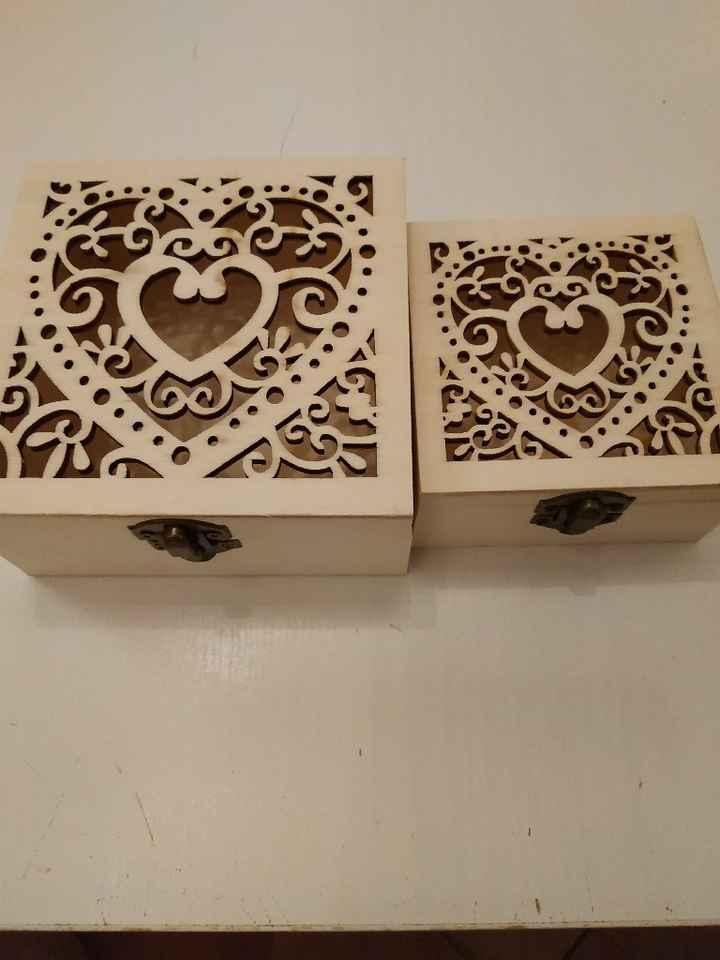 Dipingere scatoline legno Aiuto - 1
