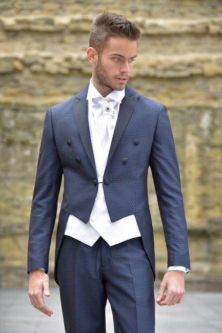 Quale di questi vestiti da sposo ti piace di più? 1