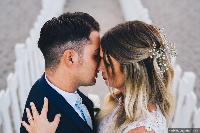 Matrimoni a prima vista: la foto romantica 1