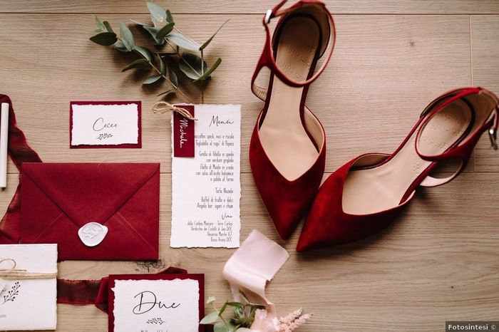 Matrimonio in rosso: quanti sì?💘 1