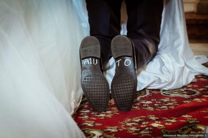 Scriverete un messaggio sotto la suola delle scarpe? 1