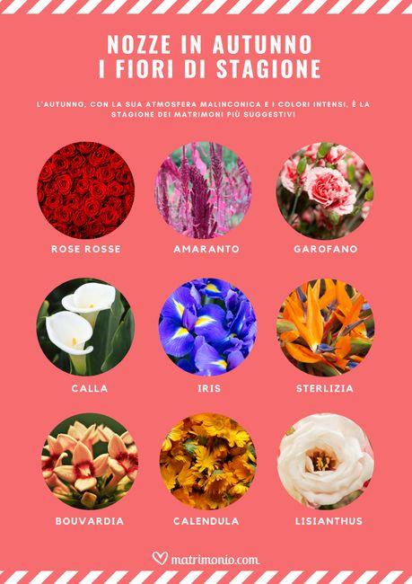 9 fiori di stagione per un matrimonio in autunno 🍁 2