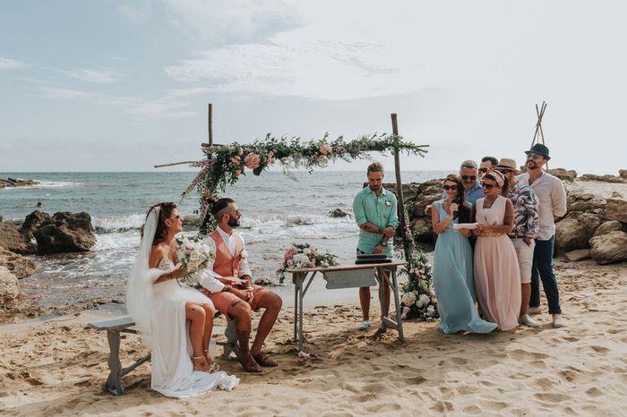 Chi avete scelto come testimone di nozze? 1
