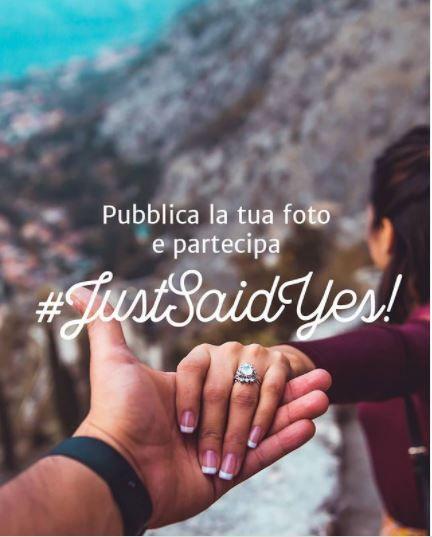 #JustSaidYes: torna il concorso Instagram di Matrimonio.com! 1