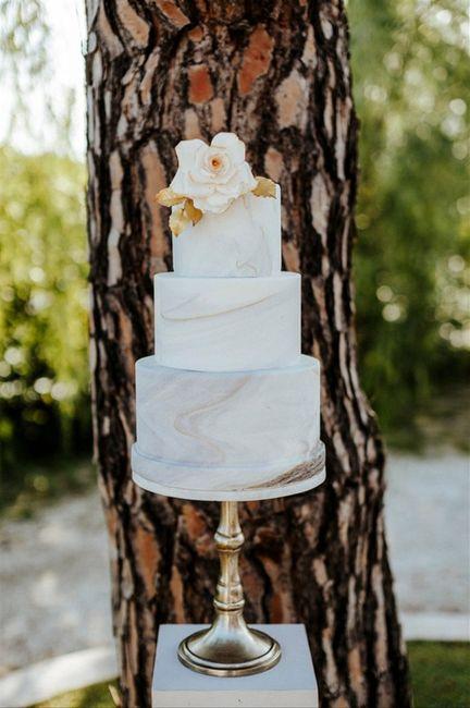 7 torte nuziali con effetto marmo: vota la più bella!🍰 2
