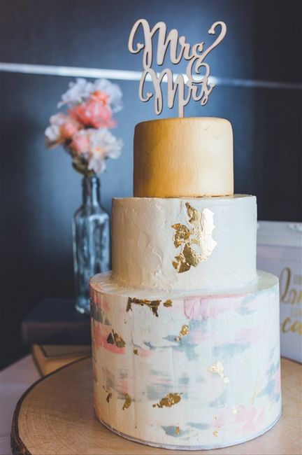 7 torte nuziali con effetto marmo: vota la più bella!🍰 4