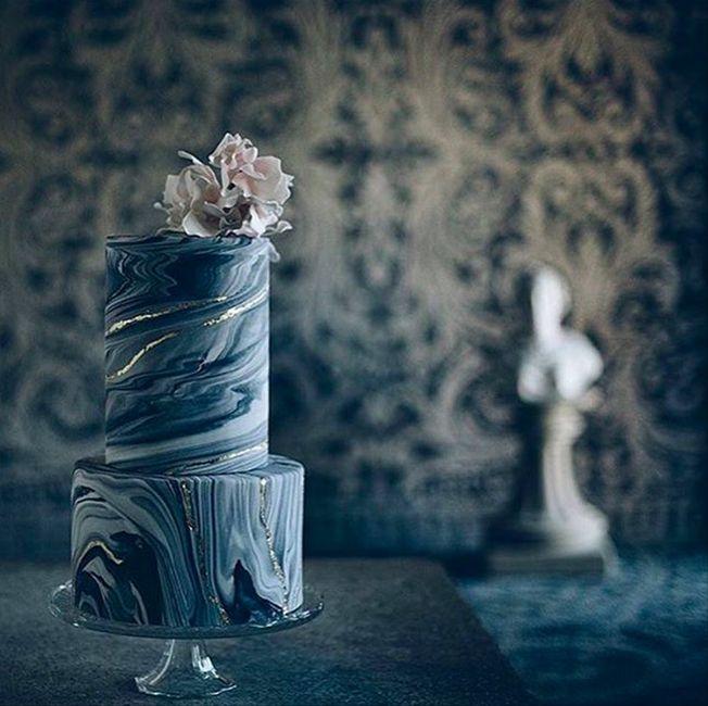7 torte nuziali con effetto marmo: vota la più bella!🍰 6