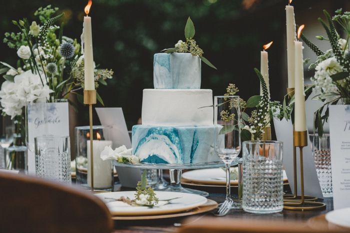7 torte nuziali con effetto marmo: vota la più bella!🍰 7