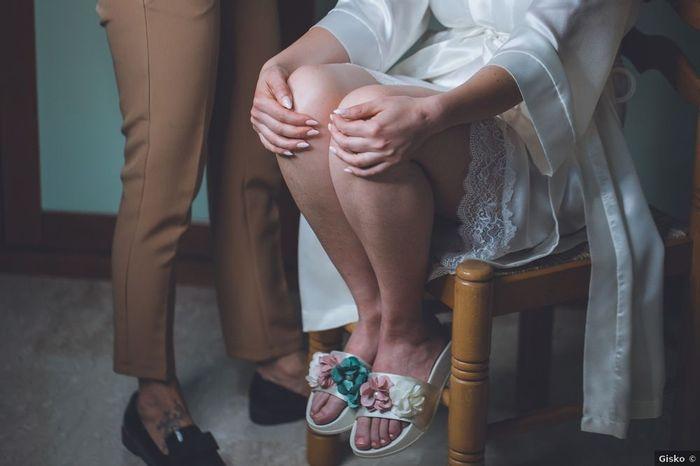 Ciabattine sposa: aperte o chiuse? 1