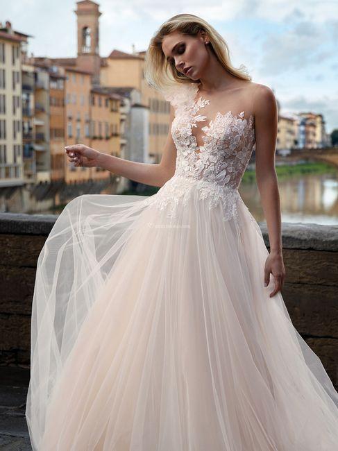 La gonna del tuo abito da sposa è... 1