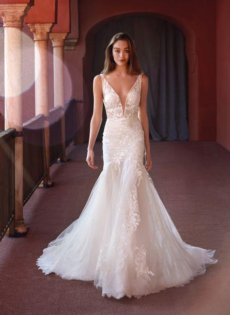 Quale tra questi abiti da sposa è simile al tuo? 3