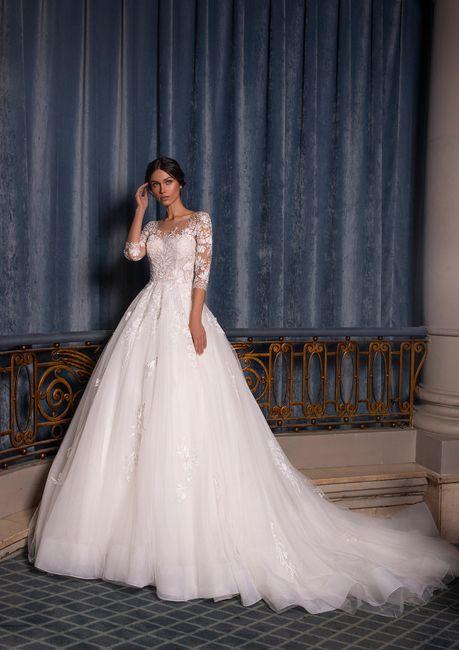 Quale tra questi abiti da sposa è simile al tuo? 1