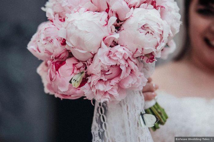 Bouquet di peonie rosa: in quante lo avete scelto? 1