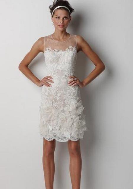 Exceptionnel Che ne pensate dei vestiti da sposa corti? - Moda nozze - Forum  AZ73