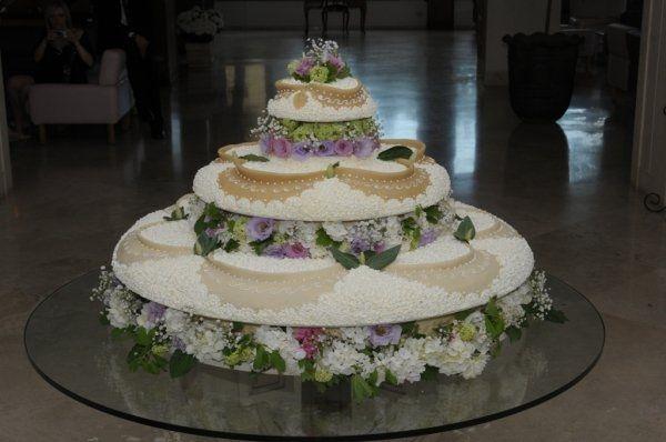 I diversi tipi di torte nuziali ricevimento di nozze for Piani domestici a forma di t