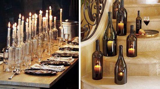 Matrimonio In Comune Costo : Riciclo creativo bottiglie di vetro fai da te forum