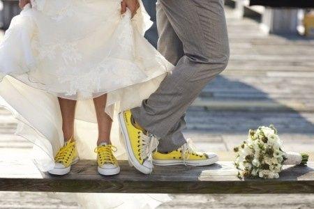 converse all star matrimonio