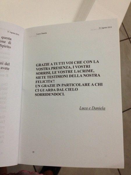 Libretto Matrimonio Simbolico Pdf : Finalmente i libretti messa finiti prima delle nozze