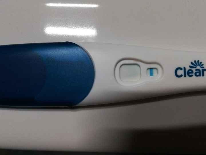 Linea obliqua test di gravidanza??!? - 1