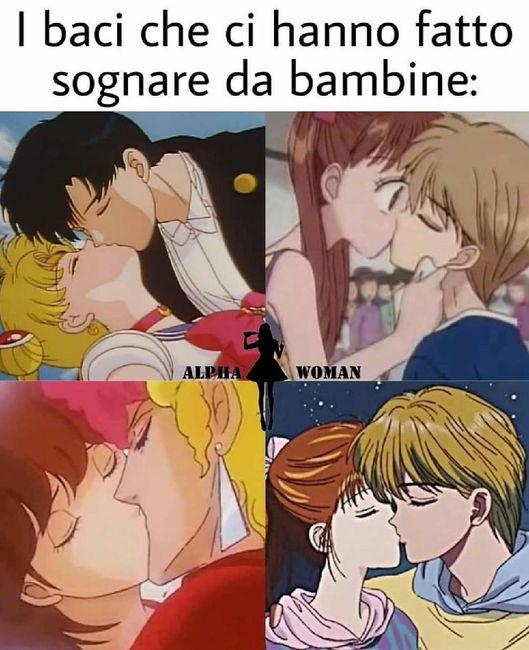 🥰😘 i baci che ci hanno fatto sognare da bambine🥰😘 1