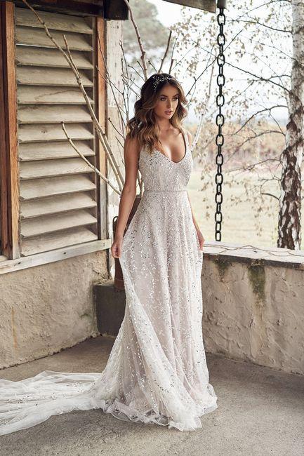 Gli abiti da sposa più scintillanti!✨ 4