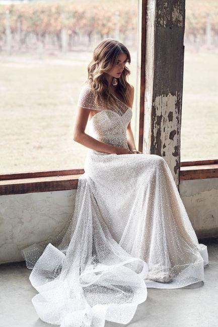 Gli abiti da sposa più scintillanti!✨ 5