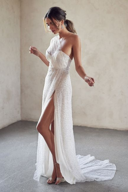 Gli abiti da sposa più scintillanti!✨ 7