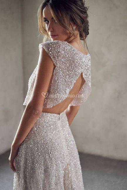 Gli abiti da sposa più scintillanti!✨ 9
