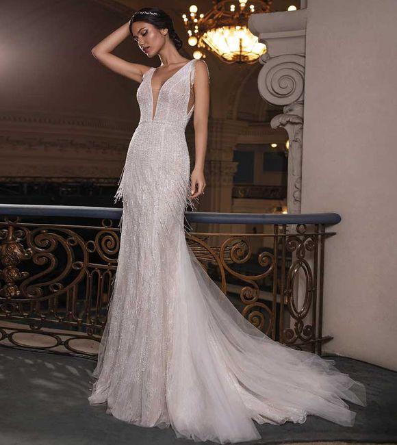 Gli abiti da sposa più scintillanti!✨ 19