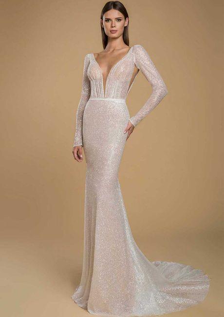 Gli abiti da sposa più scintillanti!✨ 21