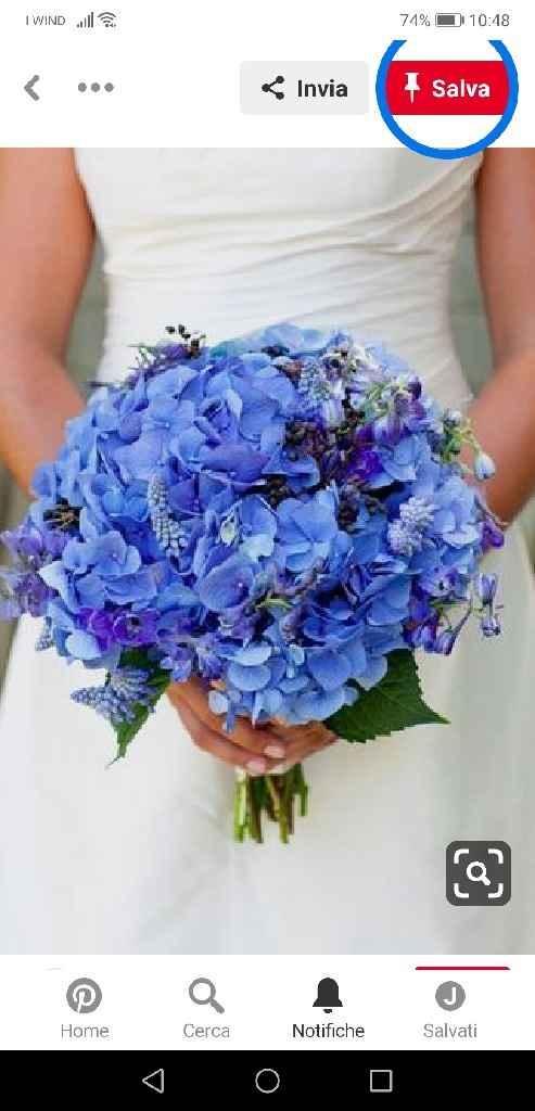 Colore tema blu, che fiori mi consigliate? - 2