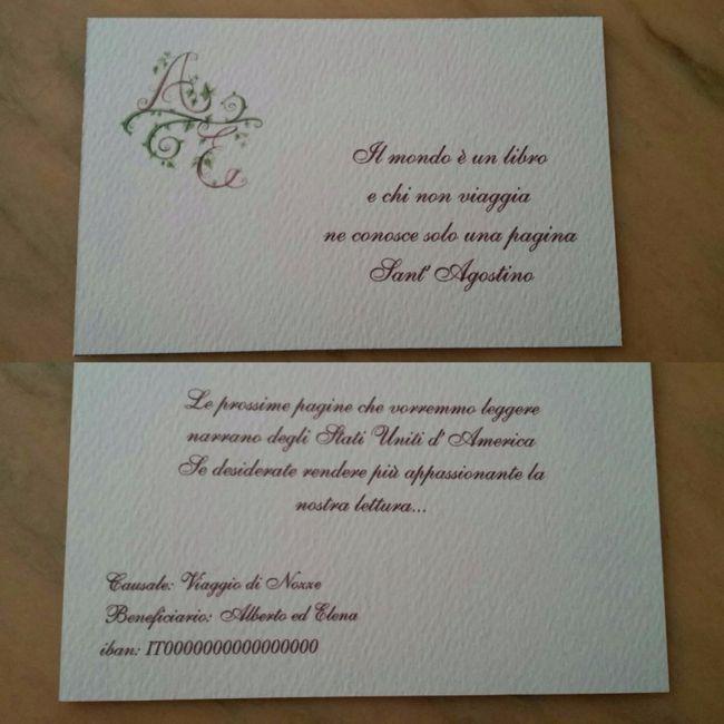 Frasi Auguri Matrimonio Viaggio : Partecipazioni pagina fai da te forum matrimonio