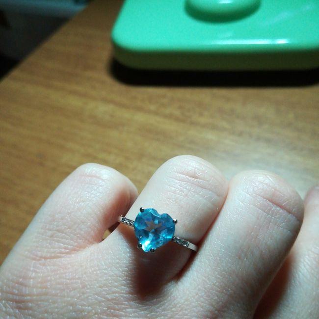 Il mio anello di fidanzamento 4