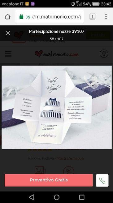 Amato Partecipazioni a forma di scatola - Prima delle nozze - Forum  VK85