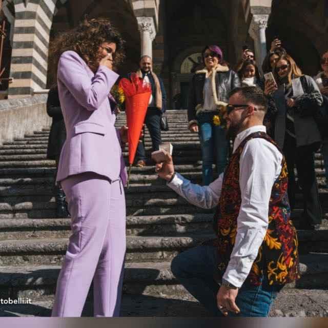 Avete una foto del momento della proposta? 💍📸 7