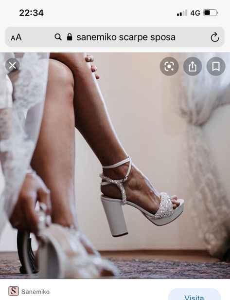 Scarpe sposa sanemiko consigli - 1