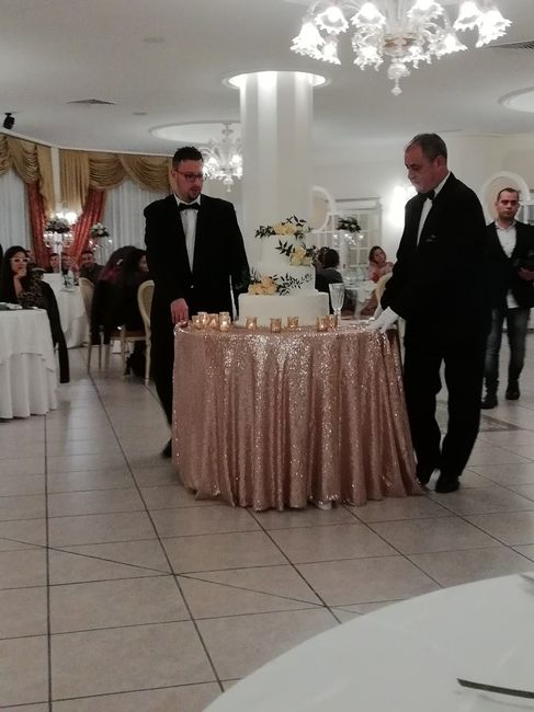 La torta nuziale🍰 1