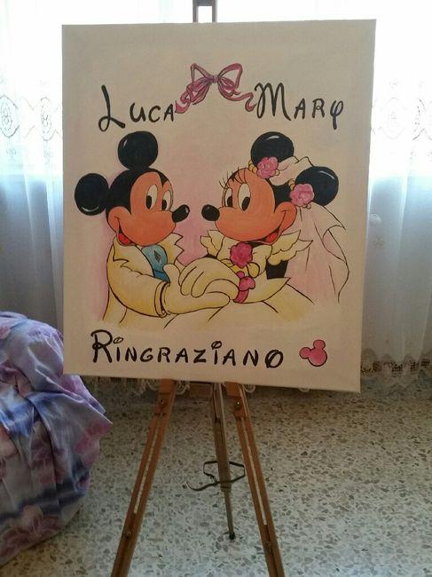Matrimonio a tema disney: minnie & topolino! - 1
