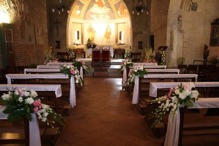 Matrimonio Natale Chiesa : Addobbi chiesa quale vi piace pagina cerimonia