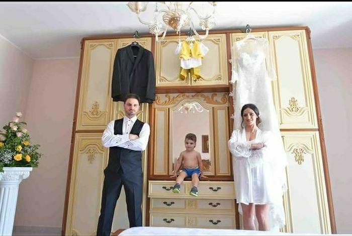 Foto della Camera da letto il giorno delle nozze 1